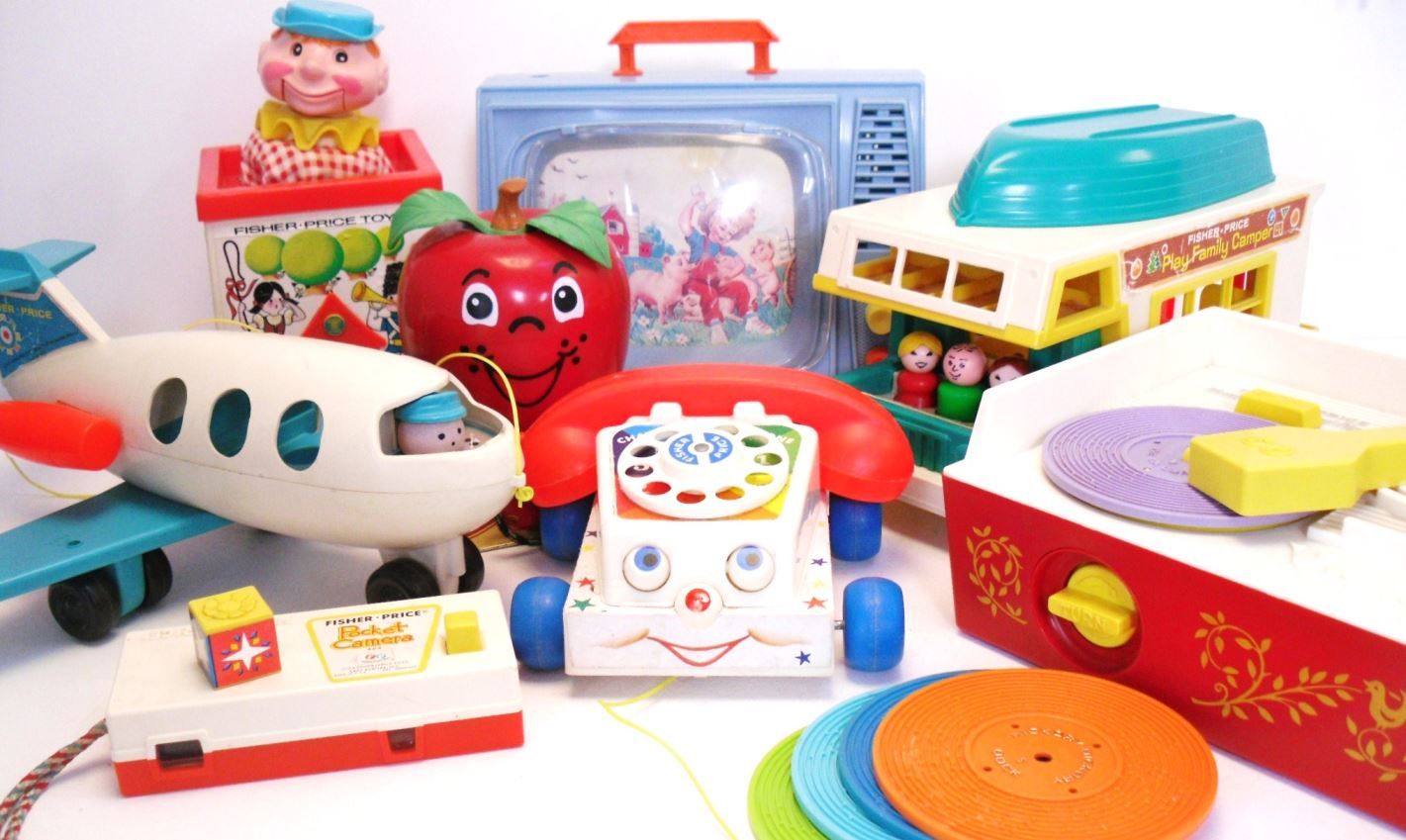 Classic Fisher Price Toys : We love fisher price