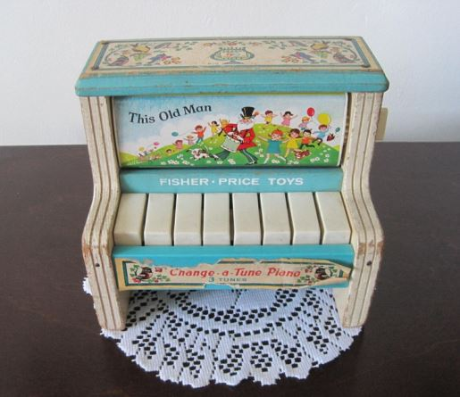 Change a Tune piano Fisher Price