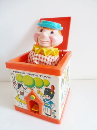 jack in the box vintage fisher price 020