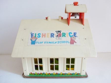 school vintage fisher price 022