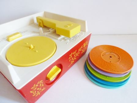 record player vintage  fisher price 024