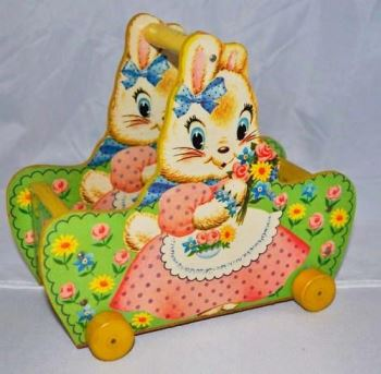 fisher price bunny cart