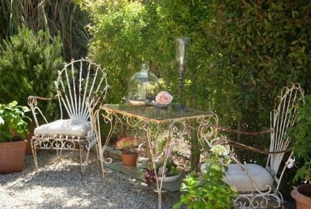 vintage garden furniture on Your Vintage Life by Kate Beavis