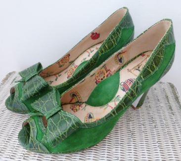 Vintage Miss L Fire shoes