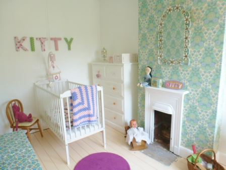 Our Girls Vintage Bedroom With 1950s Furniture