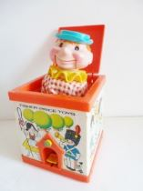Jack in the box vintage fisher price toy