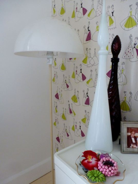 1960s lamp vintage retro mid century atomic as seen on Kate Beavis Home blog