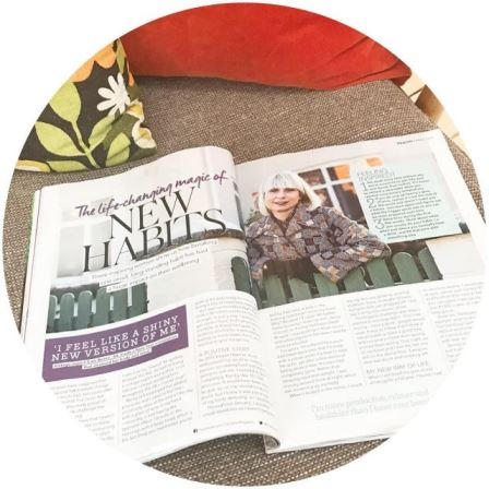 Im in topsante this month chatting about how quitting boozehellip