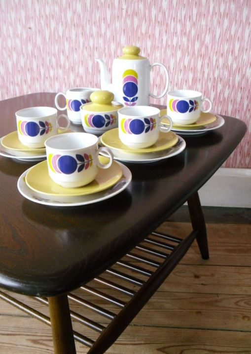 Vintage Ercol as featured on Kate Beavis Vintage Home blog