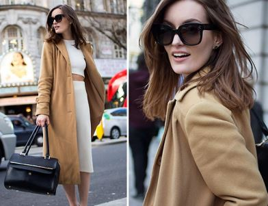 Vintage Styling Tips - Update your winter wardrobe - camel wool coat via Your Vintage Life by Kate Beavis