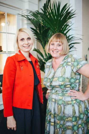 Kate and Keeley VKate Beavis and Keeley Harris Vintage Academyintage Academy