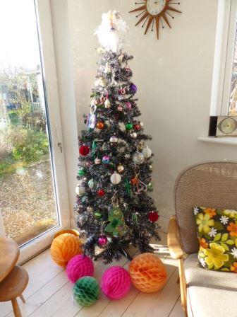 A vintage christmas tree by Kate Beavis