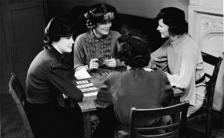ladies chatting