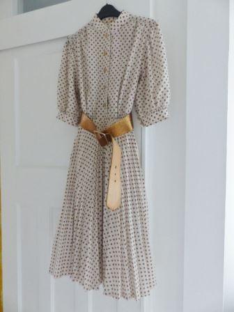 1980s vintage dress from Kate Beavis