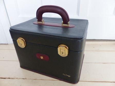 vintage 1980s Pierre Cardin luggage by Kate Beavis