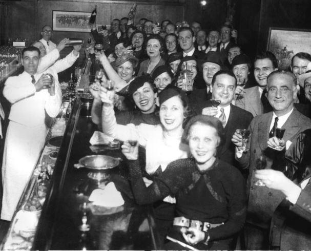 vintage drinking