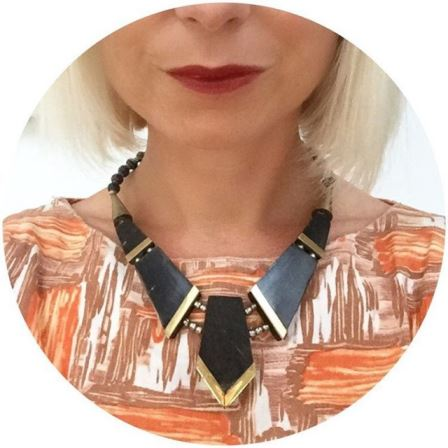 My new favourite old necklace  vintage jewellery vintagejewellery vintagebloggerhellip