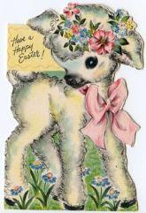 Vintage Easter Card from Kate Beavis