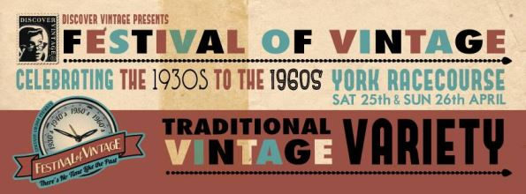 Festival of Vintage Poster 2015 via Kate Beavis