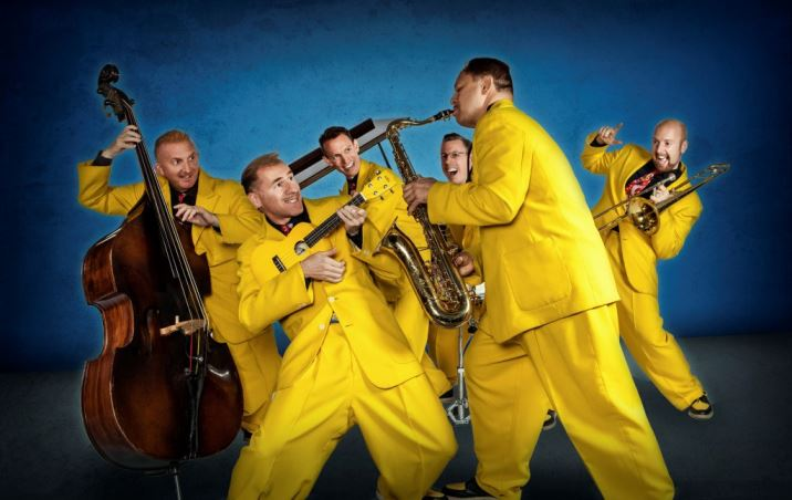 Jive Aces performing at the Festival of Vintage 2015 as featured on Kate Beavis Home