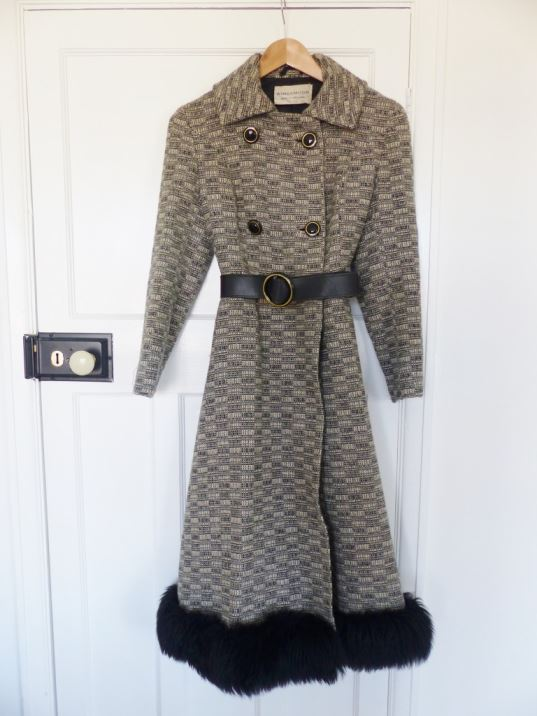 1970s Windsmoor vintage princess coat by kate Beavis