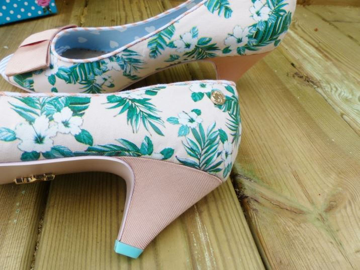 Babycham's 1950s vintage style shoes reviewed by Kate Beavis