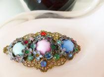 1930s vintage Czech brooch from Kate Beavis