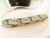 Vintage rhinestone bracelet from Kate Beavis