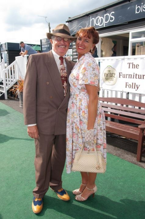 1940s fashion at Summer of Vintage Festival as seen on Kate Beavis Vintage Home blog