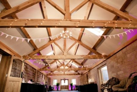 Heaton hall Farm vintage wedding venue