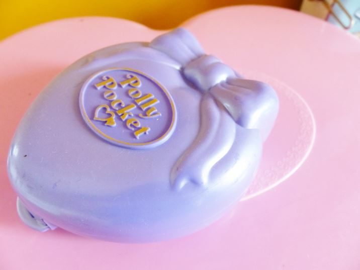 Vintage 1980s Polly Pocket as featured on Kate Beavis Vintage home blog