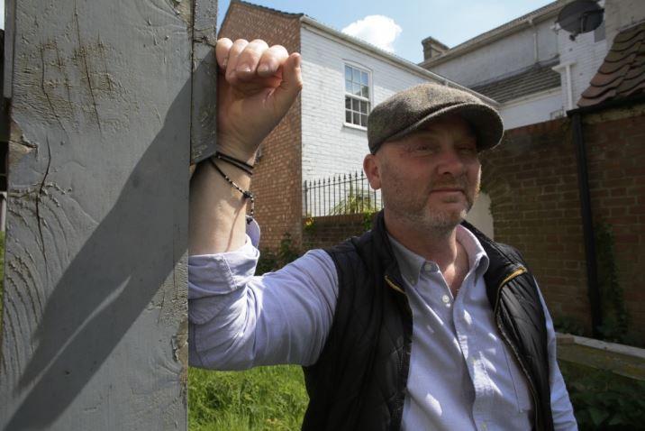 Salvage Hunters Drew Pritchard as interviewed on Kate Beavis Vintage Home blog
