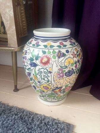 Poole Pottery deer vase as featured on Kate Beavis vintage blog