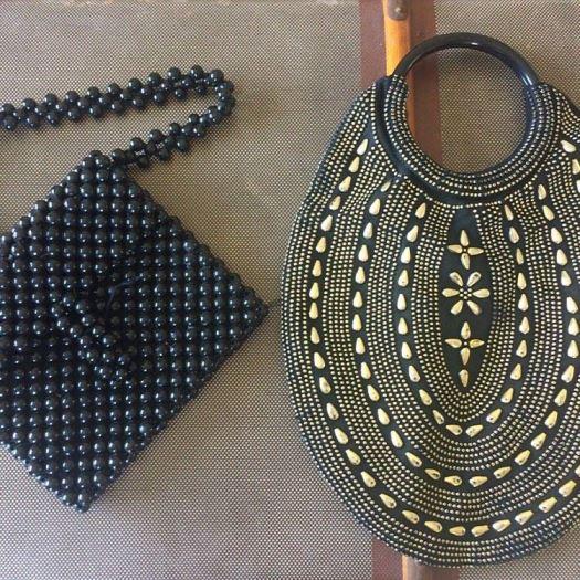 vintage handbags from 1960s as seen on Kate Beavis vintage home blog