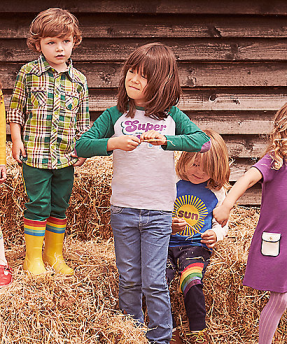 Little Bird for Mothercare vintage style childrens clothing as featured on Kate Beavis Vintage Blog