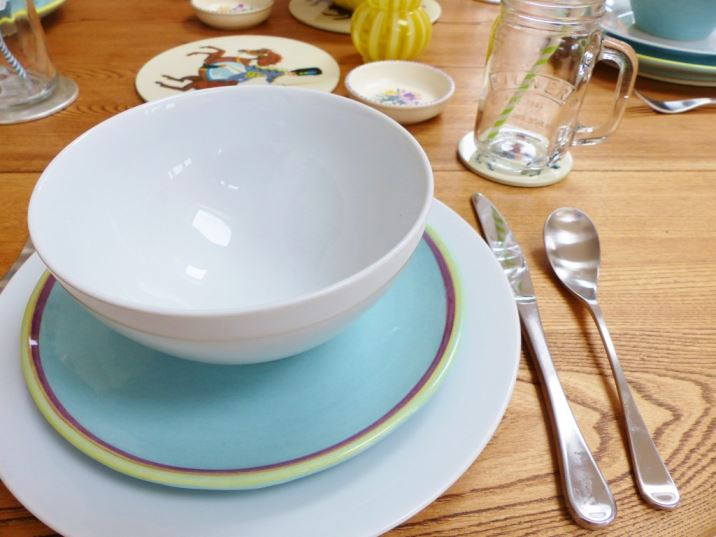 A Pastel Coloured Dinner Party With Duckydora Amp Poole
