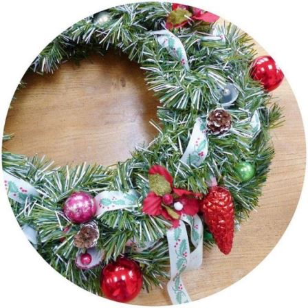 Last year I made a vintage wreath even more vintagehellip