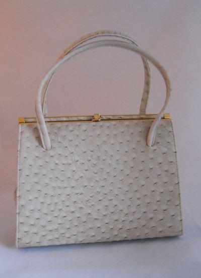 Vintage Mothers Day handbag as featured on Kate Beavis Vintage Home blog