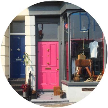 Pink doors in Margate doors pinknbspRead more