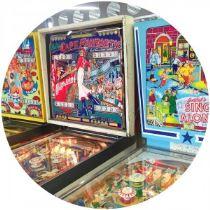Vintage arvade games in Dreamland on Kate Beavis blog in Margate