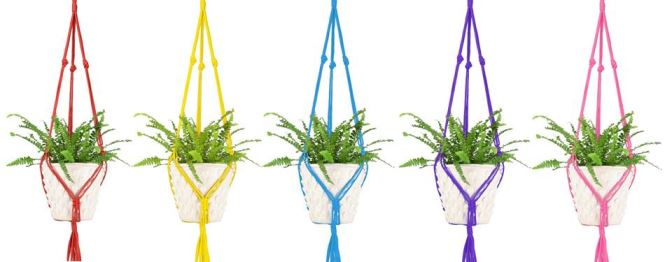 Pineapple Retro macrame plant pots as featured on Kate Beavis Vintage Home blog.png