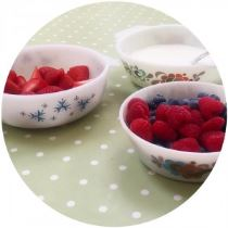 Vintage Pyrex healthy living with Kate Beavis