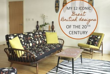 12 Iconic Great British designs of the 20th century as featured on Kate Beavis.com