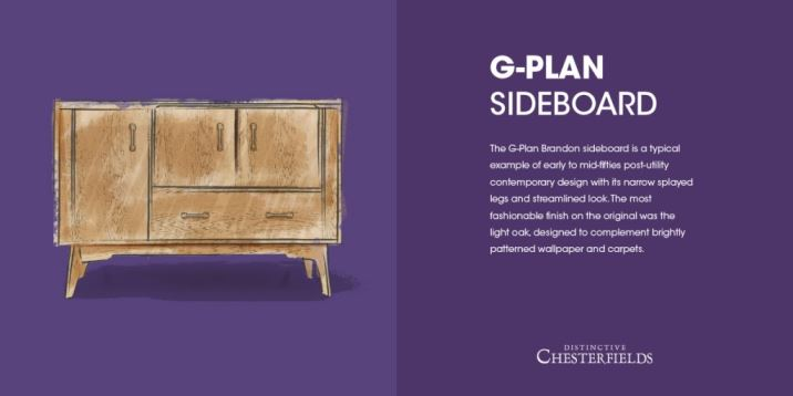 gplan Brandon sideboard as featured on Kate Beavis.com