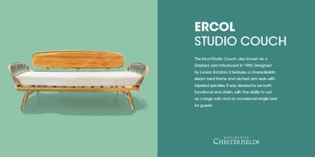 Ercol studio couch as featured on kate beavis.com