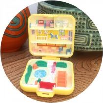 vintage Polly Pocket as seen on Kate Beavis Vintage blog