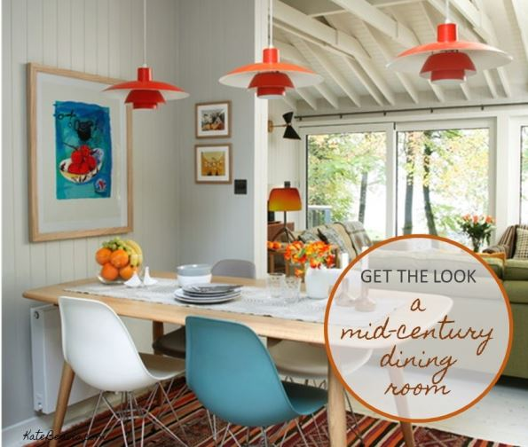 Vintage Mid Century Dining Rooms: Get The Look: A Mid Century Dining Room