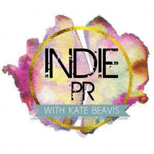 Indie PR logo by Kate Beavis