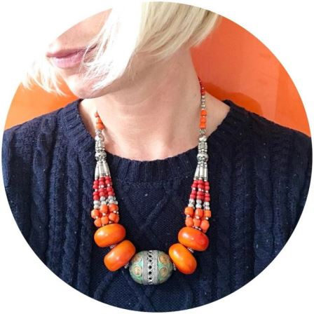 I bought this necklace from Marrakesh to match my fridgehellip