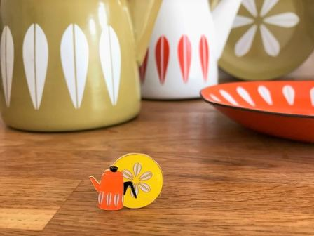 Vintage Pin Club CathrineHolm pin